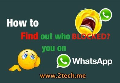 How to find out who blocked you on WhatsApp