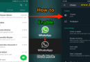 How to Enable WhatsApp dark mode