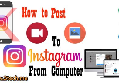 How to post photo and video to instagram from computer