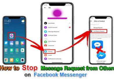 How To Stop Message Request from Others On Facebook Messenger